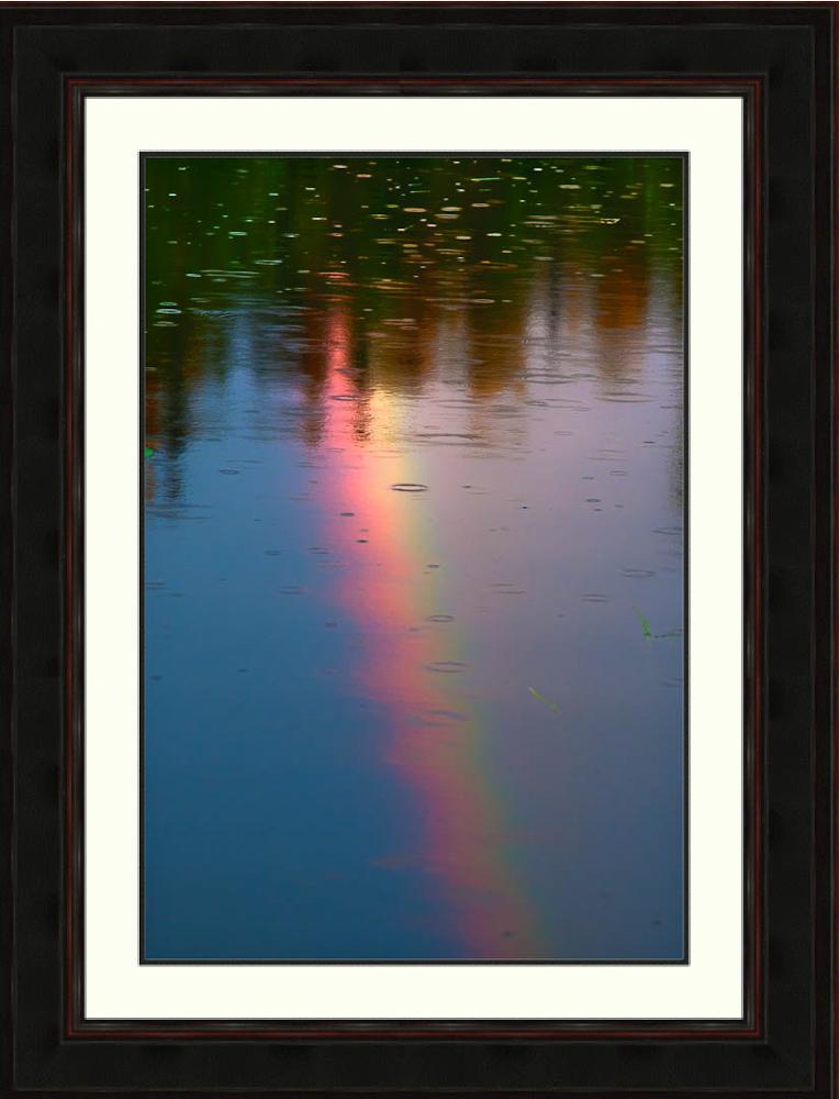 Rainbow-lake-reflection-Alaska-Ron Levy Photography