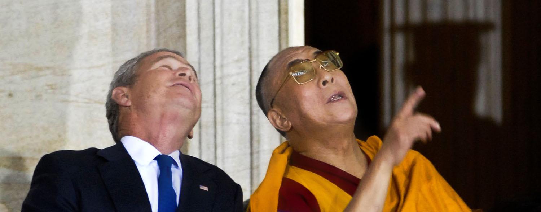 Bush-Dalai-Lama-Washington DC-Ron Levy Photography