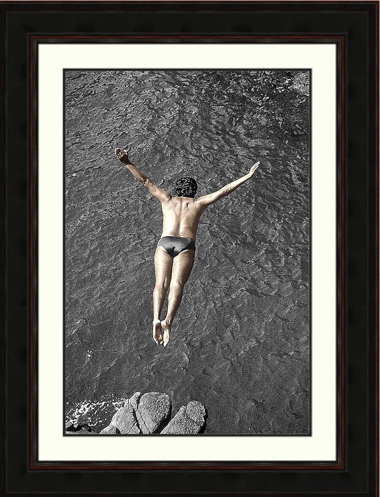 perfect-precision-high diver-quebrada-Acapulco, Mexico-Ron Levy Photography