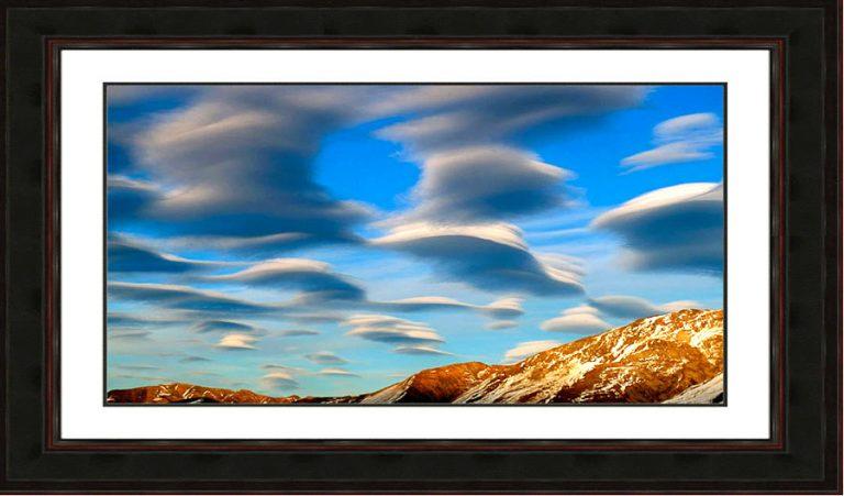 Lenticular-clouds-Denali National Park-Alaska-flying-invasion-Ron Levy Photography