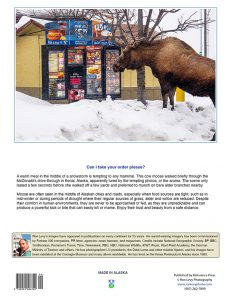 McDonalds-moose-reading-drive-thru-menu-Kenai-Alaska-notecard-Ron Levy Photography