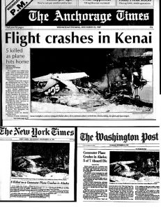commercial-airplane-crash-Alaska-newspapers-AP1987-Ron Levy Photography