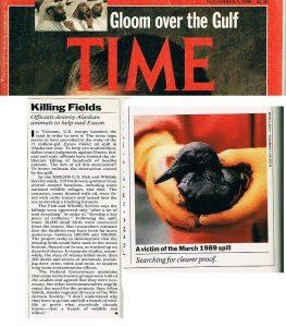 Time-magazine-Exxon Valdez-oiled-bird-Alaska-RonLevy Photography