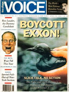 VillageVoice_cover-shot-Exxon-Valdez-oil-spill-Ron Levy Photography