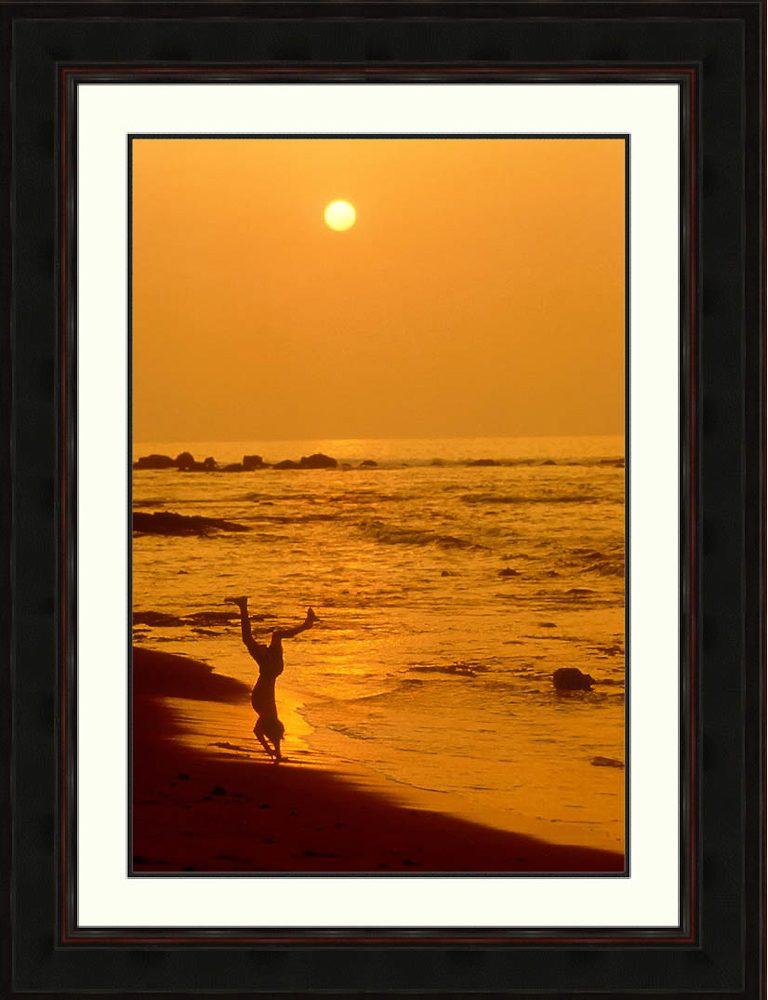 boy-handstand-beach-sunset-Maui-Ron Levy Photography