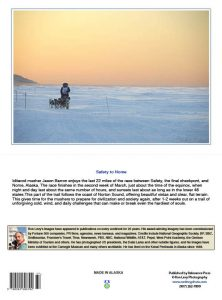 Iditarod-musher-dogteam-sunset-Bering sea-Alaska-notecard-Ron Levy Photography