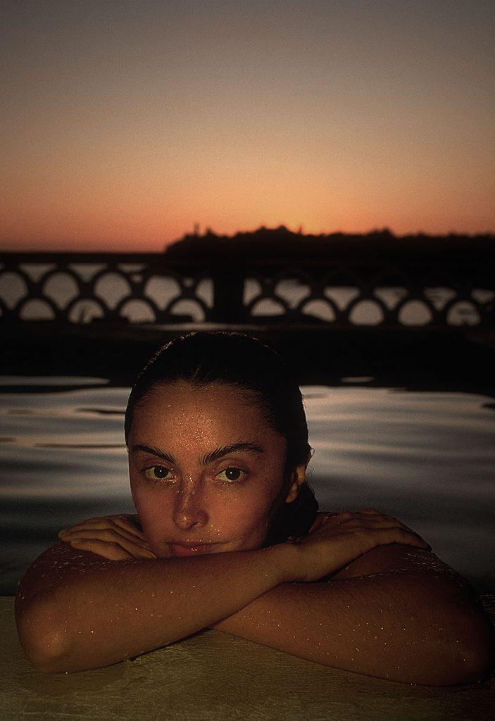 Geli-pool-sunset-ronlevyphoto