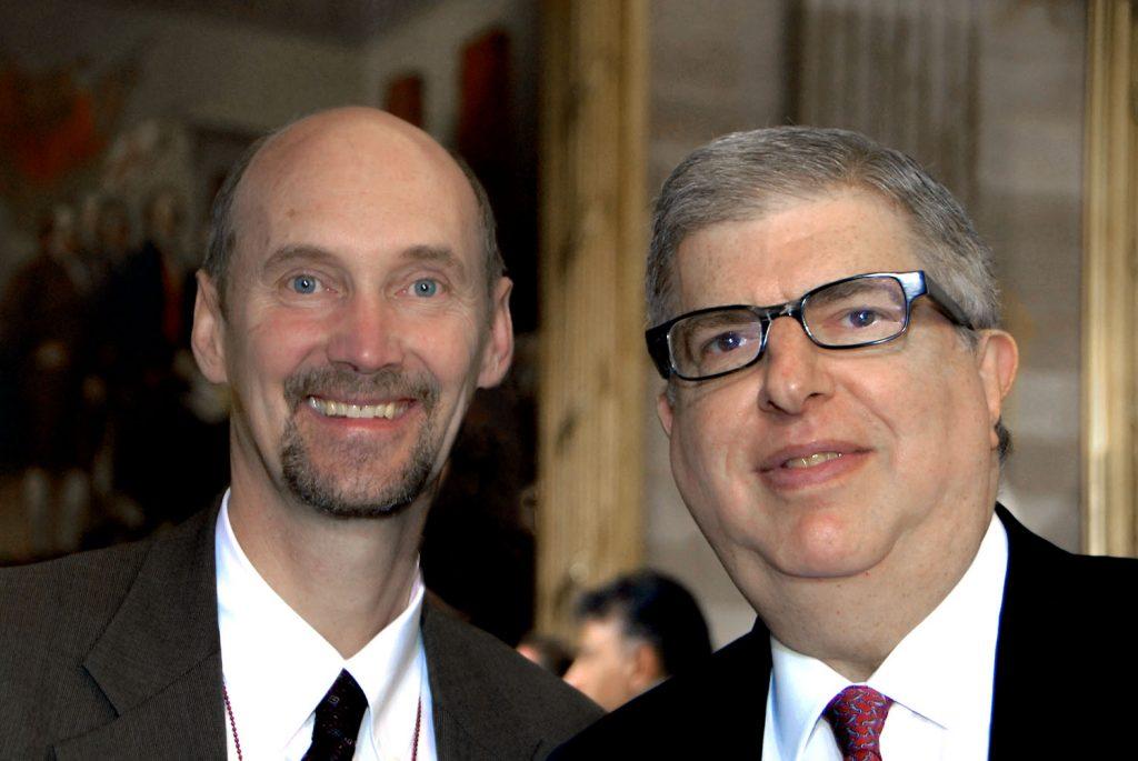 Marvin Hamlisch, John Ackerly, US Capitol, WashingtonDC